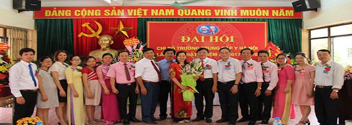 Đại hội Chi bộ Trường TC Y Hà Nội